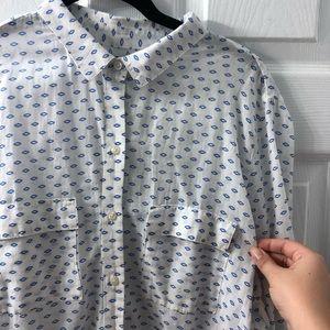 Gap cotton long shirt